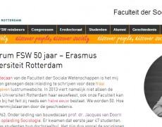 Lustrum Faculteit Sociale Wetenschappen